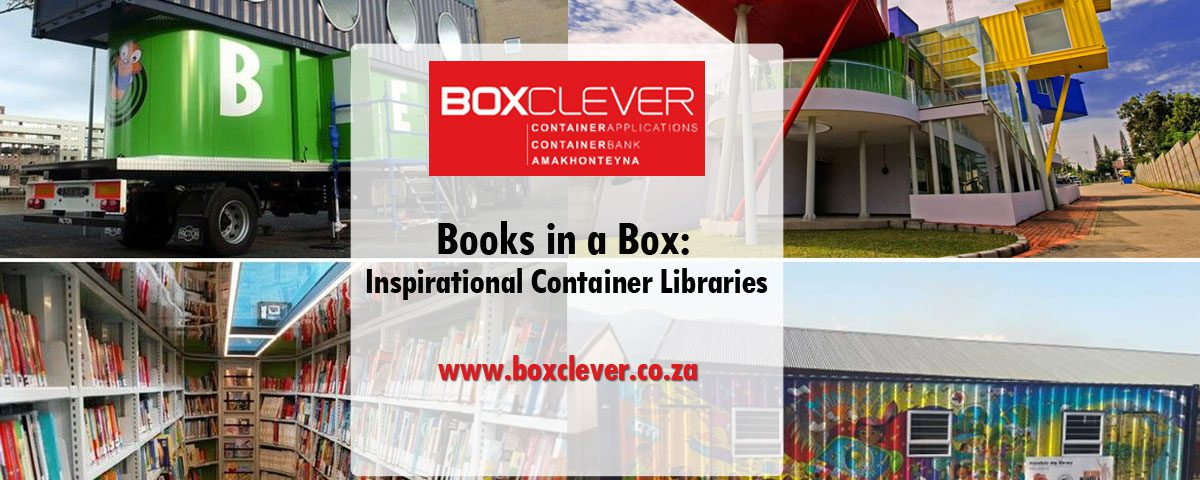 Books in a Box: Inspirational Container Libraries