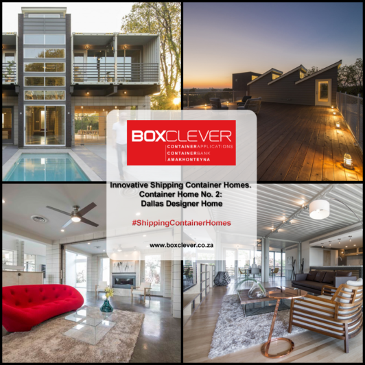Innovative Shipping Container Homes. Container Home No. 2: Dallas Designer  Home   BoxClever