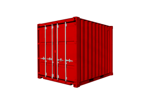 3M = 10′ GP (General Purpose) Container