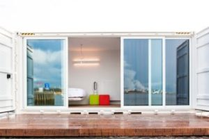 A Minimalist Hotel Room